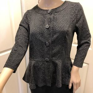 Jacket style top